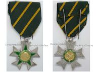 France WW2 Order Combatant Merit Knight's Cross 1953 1963 Military Medal French Republic Decorarion Award by Muller