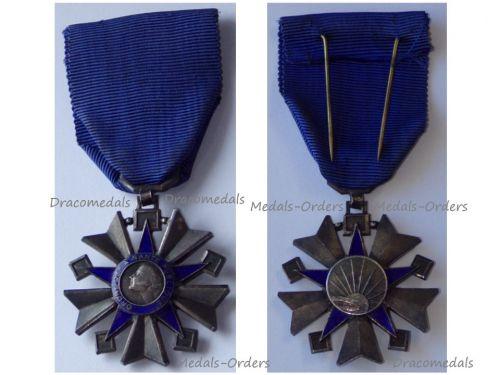 France WW2 Order Public Health Knight's Star 1938 1963
