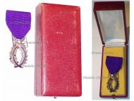 France WW1 Order Academic Palms Knight Luxurious Type Boxed