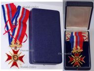 France Britain WW2 Franco British Association Commander's Cross Military Medal French Decoration 2nd Type Boxed