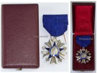 France WW2 Order Public Health Knight French Decoration Civil Medal 1938 WWII