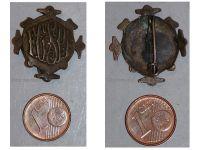 France WW1 French Federation Sports Gymnastics FGSPF badge 1903 1907 pin WWI Great War Award