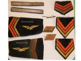 France Rank Insignia WW2 Air Force Corporal Major Aviator Set Free French WWII 1940 1945
