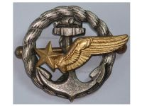 France WW2 Wings Observer badge Naval Aviation Air Force French Aéronavale WWII 1939 1945 Decoration