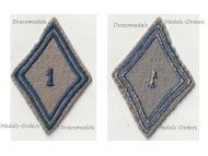 France 1st Quartermaster Regiment Patch Model 1945