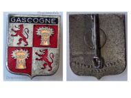 France I/19 Gascogne Bombardment Group Badge Air Force Indochina War French 1951 1955 Armée de l'Air by Arthus Bertrand
