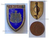 France WW1 Verdun Patriotic Badge