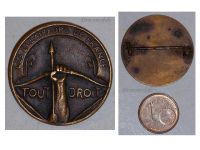 France WW1 Boy Scouts Tout Droit badge French Medal pin WWI 1914 1918 Great War Award