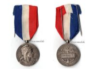 France Mercantile Merchant Marine Navy Medal WW1 1918 French Decoration NAMED WWI