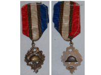 France WW1 Veterans Association UNC Badge Military Medal 1914 1918 Decoration French Great War Chobillon