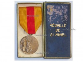 France WW1 Saint St Mihiel Battle Commemorative Military Medal WWI 1914 1918 French Decoration Great War Boxed