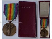 France WW1 Victory Interallied Medal by Morlon Laslo Official Type Boxed