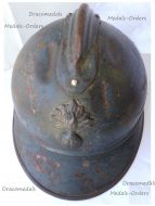 France WW1 Adrian Helmet M15 1915 for Infantry & Cavalry Regiments