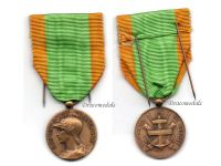 France WW1 Volunteers Military Medal WWI 1914 1918 French Decoration Great War Award Adolph Rivet