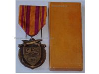 France WW2 Dunkirk Medal Veterans 1940 Commemorative French Decoration WWII 1939 1945 Paris School Arts Boxed