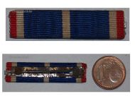 France WW1 Ruhr Rhineland Commemorative Military Medal 1918 1930 Ribbon bar French Decoration Great War