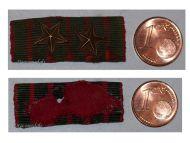 France WW1 Medal War Cross Croix Guerre 1914 1918 Ribbon bar 2 stars Decoration French WWI Great War