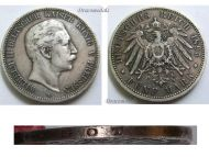 Germany 5 Mark Coin 1895 A Prussia German Empire Kaiser Wilhelm II Berlin Mint