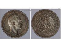 Germany 5 Mark Coin 1907 A Prussia German Empire Kaiser Wilhelm II Berlin Mint