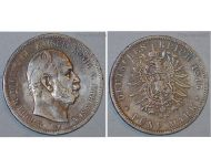 Germany 5 Mark Coin 1875 B Prussia German Empire Kaiser Wilhelm I Hannover Mint