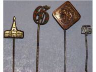 Germany WW1 Prussia Lighthouse Kyffhauser Land Forces Veterans 4 Stick Pins