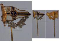 Germany WW1 Imperial Navy War Veterans Association Fleet badge pin WWI 1914 1918 Decoration Great War