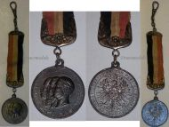 Germany Prussia Patriotic Fob Year of 3 Kaisers 1888 Imperial Prussian Kingdom Decoration German Empire