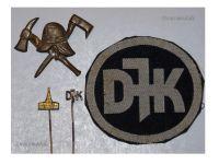 Germany WW1 Kyffhauser Land Forces Veterans Freikorps pins cap badge patch Great War 1914 1918 German