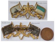 Germany WW1 Bavaria Badge King Ludwig Bavarian Flag German Military Medal Great War 1914 1918