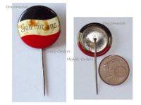 Germany WW1 Prussia Gott Mit Uns German Colors Badge Stick pin WWI 1914 1918 Prussian German Decoration