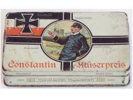 Germany WW1 Constantin Kaiserpreis Cigarette Box for 50 N.55 Cigarettes