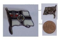 Germany WWI Imperial Navy Flag Kaiserliche Marine cap badge