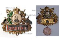 Germany WW1 Prussia Infantry Kaiser Wilhelm Patriotic Badge 1914 1918 Decoration German Great War