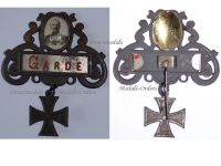 Germany WW1 Prussia Guards Corps Patriotic Badge Kaiser Wilhelm 1914 1918 Decoration German Great War