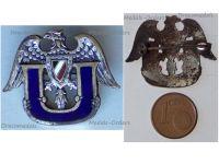 Germany WW1 Submarine Uboat Veterans Cap Badge Imperial Navy 1914 1918