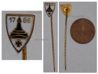Germany WW1 Prussia Lighthouse Kyffhauser 1786 Land Forces Veterans Stickpin Marked Ges. Gesch