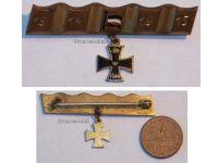 Germany WW1 Trench Art Iron Cross EK1 Patriotic Brooch Veterans Patriotic WWI 1914 1918 German Great War