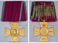 Germany WW1 Bavaria Luitpold Cross 1911 Loyal State Service 40 years Bavarian Decoration Great War 1914