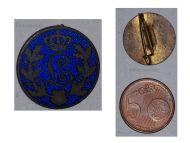 Germany WW1 Bavaria Royal Cypher Queen Louise Patriotic brooch Badge German Military Medal Bavarian WWI
