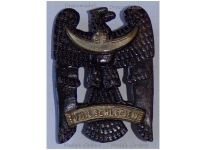 Germany WW1 Silesian Eagle Badge 1st class Military Medal Freikorps 1919 German Decoration Weimar Republic in Iron