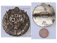 Germany Prussia Hunters Association Badge 25 Years Membership Maker St&L German Decoration Prussian Weimar Republic