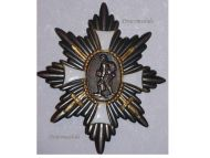 Germany WW1 Hamburg German Field Decoration Honor Badge Chest Star Veterans WWI 1914 1918 Great War Award