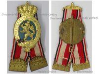 Germany WW1 Hessian Land Forces Veterans Assosiation Badge by A.D. Schwerdt