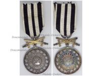 Germany Hohenzollern WW1 Silver Merit Medal with Swords 3rd type 1842
