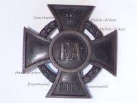 Germany WW1 Oldenburg Friedrich August Merit Cross 1st Class FA1 1914