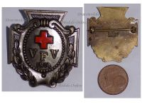 Germany WW1 German Red Cross VFV Fatherland Ladies Association Badge for Nurses by Stubbe