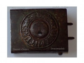 Germany WW1 Prussia Military Buckle NCO Enlisted Men 1914 Gott Mit Uns German Imperial Army Prussian Great War