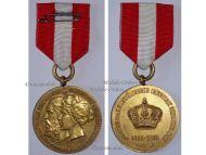 Germany Prussia Jubilee 5th Westphalian Infantry Regiment Nr. 53 Military Medal German 1860 1910 Kaiser Wilhelm II