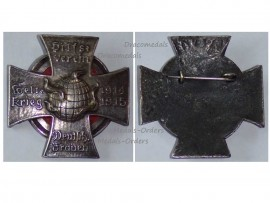 Germany WW1 German Ladies World War Aid Association Badge 1914 1915 Military Medal Cross Prussia