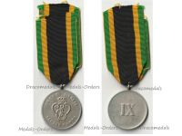 Germany WW1 Saxe Weimar Military Service Decoration (Long Service Medal) 3rd Class for 9 Years 1913 1918